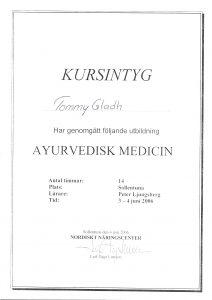 Ayrvedisk Medicin - Tommy Glad