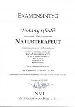 Naturterapeut Certifierad - Tommy Glad